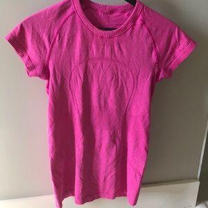 Lululemon Swiftly Pink Top